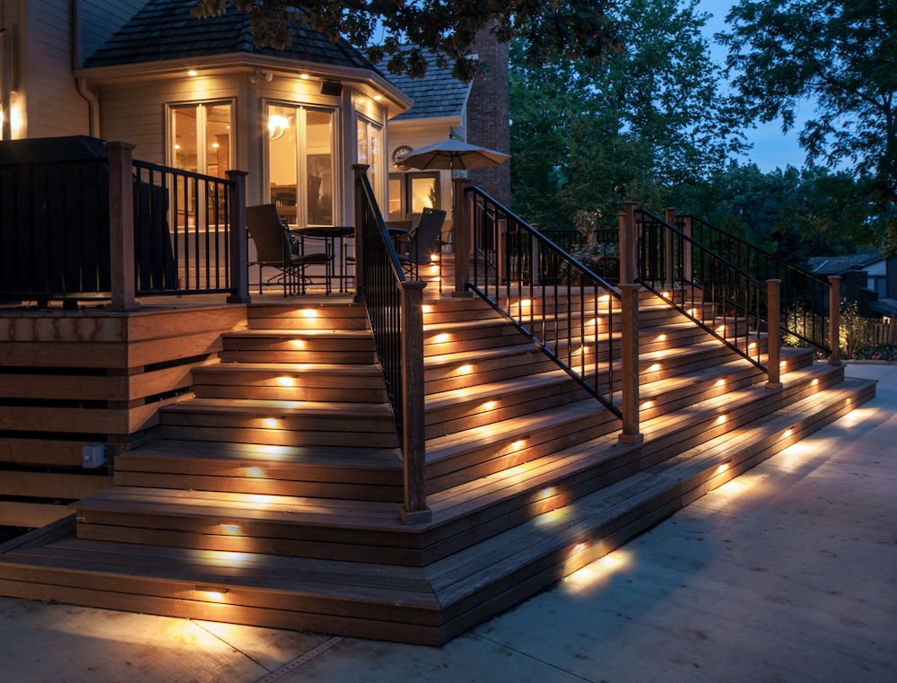 patio lighting ideas and solutions.